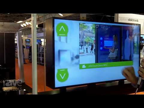 ISE 2015: Hume Lab Showcases the Interactive AirTouch Screen