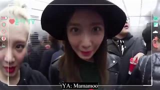 [VietSub] Hyoyeon, YoonA gặp Mamamoo/meets Mamamoo