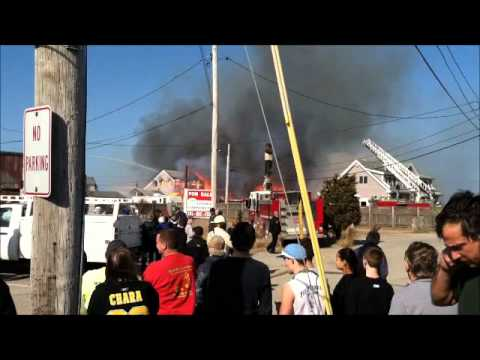 Fire:   Humarock, Scituate MA  March 8, 2012