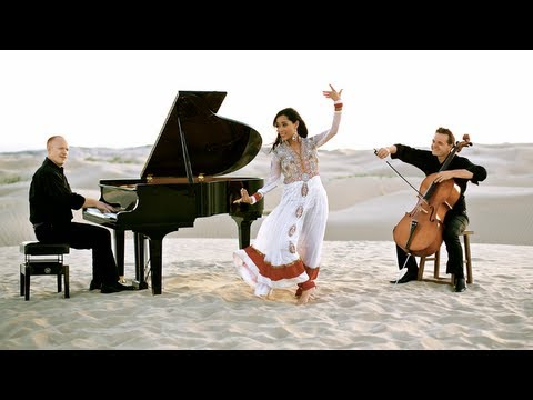 Swedish House Mafia - Don't You Worry Child (khushnuma) - Ft. Shweta Subram - Thepianoguys video