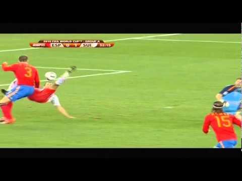 Gerard Pique Bleeding (World Cup South Africa)