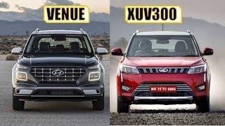 HYUNDAI VENUE VS MAHINDRA XUV300 - FULL COMPARISON