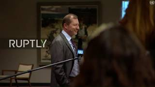 LIVE: UNSC meeting on Iran: media stakeout