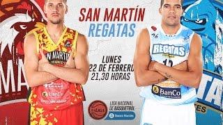 Сан Мартин К : Регатас Корриентес