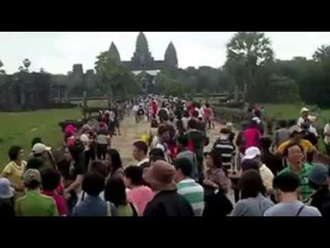 The Income from Tourist Visiting Angkor Wat Each Year