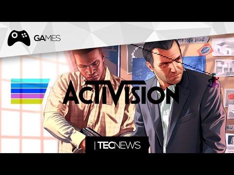 Filme Do Gta E Activision Quer Comprar A Rockstar (take Two) | Tecnews video