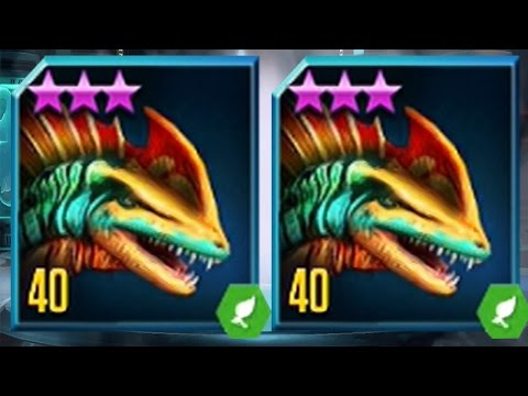 LABYRINTHOSAURUS  MAX LEVEL 40 - NEW HYBRID Jurassic World The Game