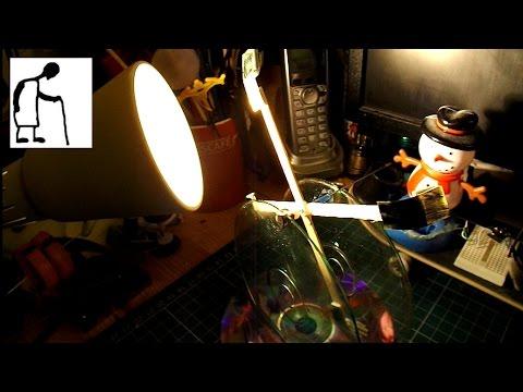My version of MrSamOdelkin's Solar Mill Heat Engine