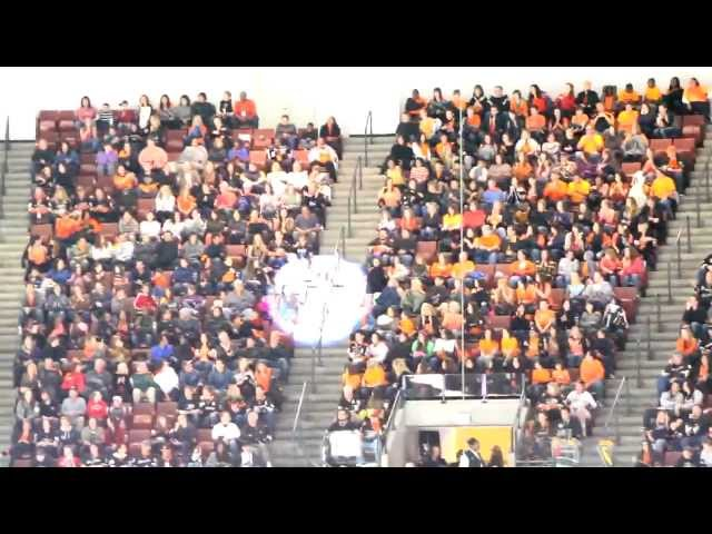 Anaheim Ducks Flash Mob