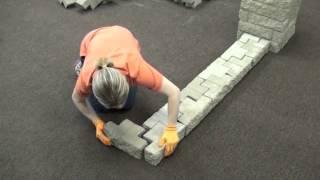 FerrariBK TANGO® - realizzazione di un muretto con angoli a 90° , recinzioni e testate (it)
