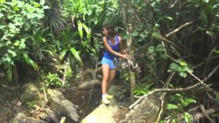 Palau Kapas (Kapas Island), Malaysia, Jungle trek 3 to the isolated beach