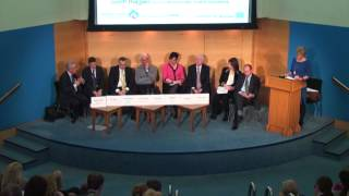 Sally Magnusson chaired panel discusion at Surgeons' Hall, Edinburgh: part 2
