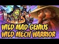 Wild Mad Genius | Wild Mech Warrior | The Boomsday Project | Hearthstone