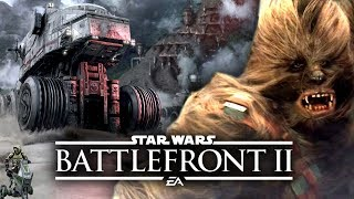 Star Wars Battlefront 2 - Kashyyyk Vehicles, Heroes, Special Characters We Can Expect!