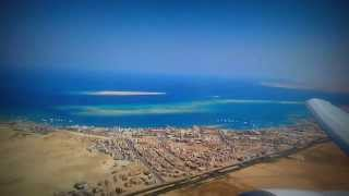 Взлетаем из Хургады | Taking off from Hurghada