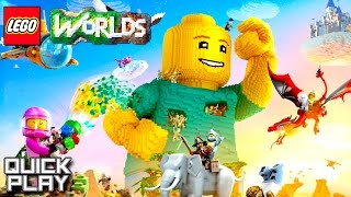 LEGO Worlds Gameplay - First 20 Minutes! (Quick Play)
