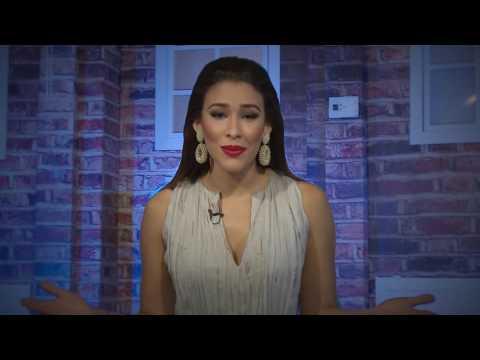 Mensaje navideño de Anyelina Sánchez