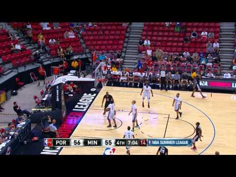 Portland Trail Blazers vs Minnesota Timberwolves Summer League Recap