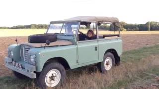 A new Land Rover at home : 88 Serie 3 1976