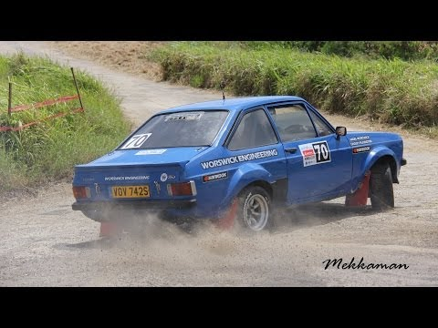 Rally Barbados 2012 King of the Hill - Racing Action