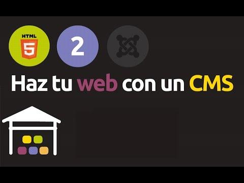 Módulo 2 del curso de HTML5: El CMS es como un buen restaurante