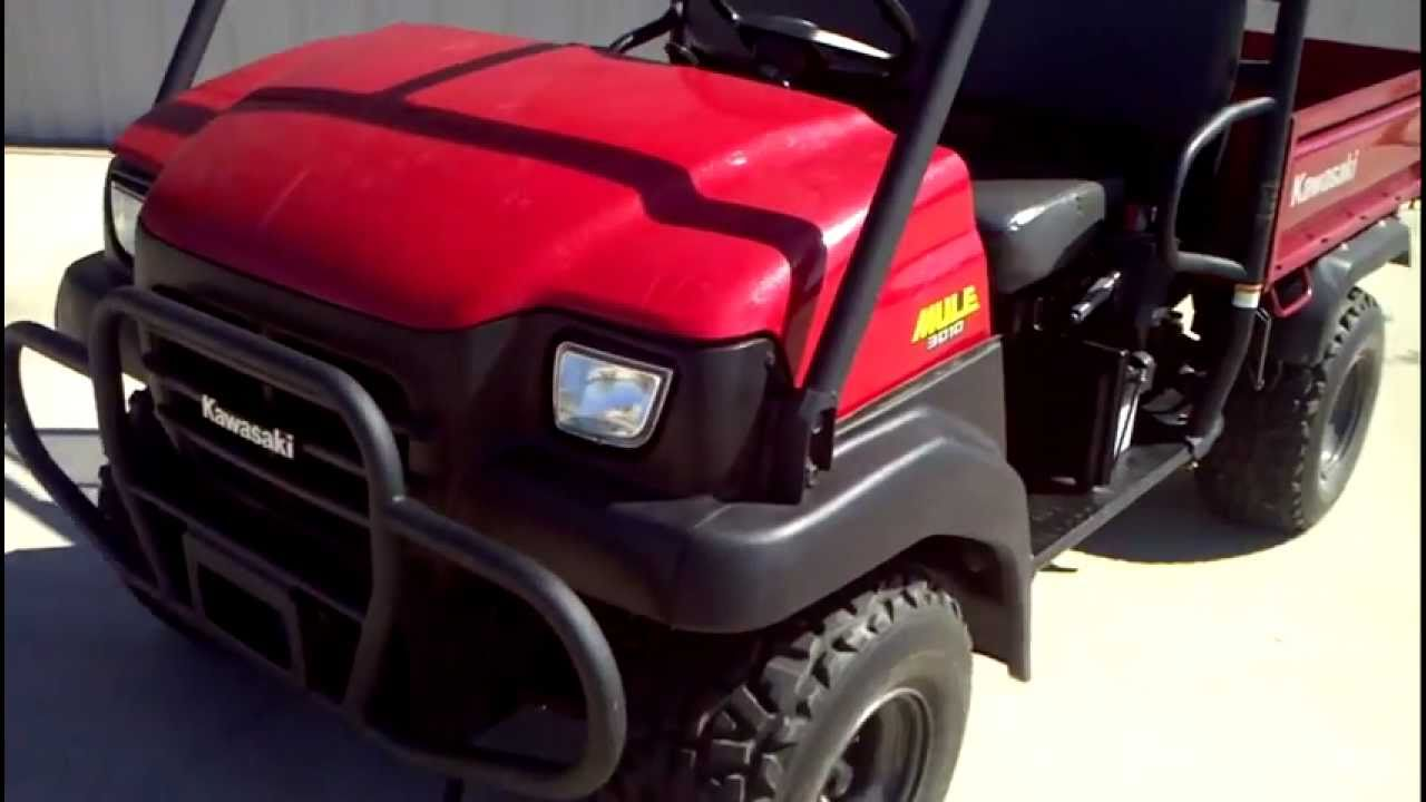 2007 kawasaki mule 3010 4x4 youtube for Yamaha motorcycle serial number wizard