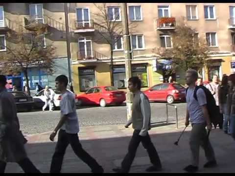 #23 Flash Mob in Bialystok - FOLLOW ME
