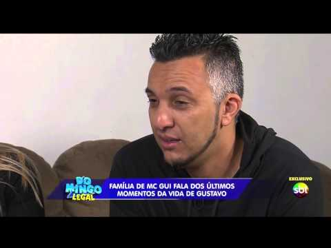 Domingo Legal - Celso visita família do MC Gui após morte de Gustavo - Parte 1/2 - 27/04/14 [HD]