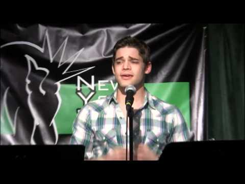 NYTB: Jeremy Jordan sings Wall Lovin from SING, BUT DONT TELL: An Evening of Carner & Grego