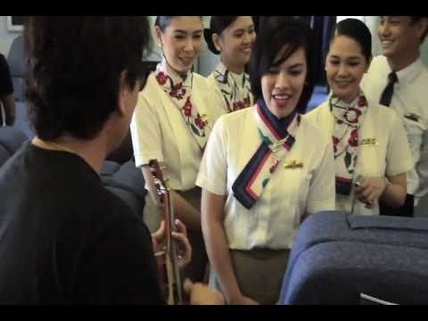 Philippine Airlines Flight Attendants Sings A Song By