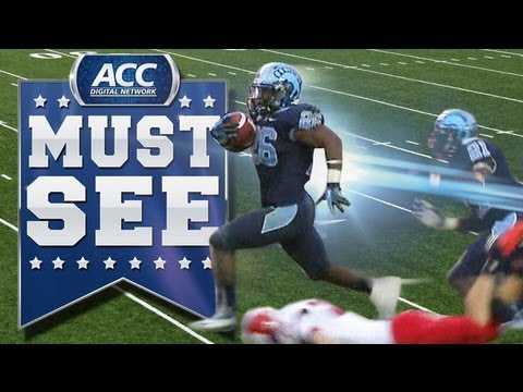UNC's Gio Bernard UNREAL Game-Winning Punt Return for TD - ACC Must See Moment