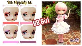 BB girl chinese doll Review / Đồ chơi trẻ em: Mở hộp búp bê BB Girl / Ami DIY