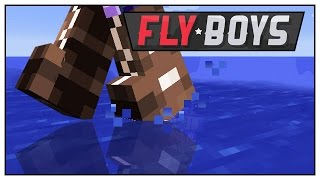Minecraft Mods FlyBoys - Walking on Water! - Episode 51