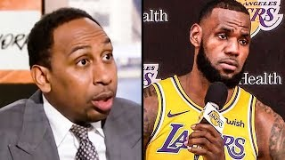 Stephen A. Smith Attacks LeBron Without Knowing The Facts