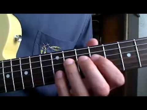 Rockabilly Guitar Lesson - Who Slapped John Part 2