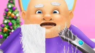 Fun Crazy Santa Makeover Kids Game - Christmas Animal Hair Salon 2 - Play Fun Dress Up Makeover Game