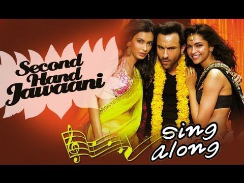 Second Hand Jawaani (Karaoke) | Cocktail | Saif Ai Khan, Deepika Padukone & Diana Penty