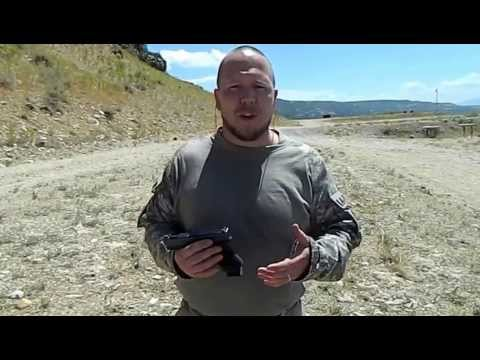Compensated Glock vs. Gen 4 Recoil test