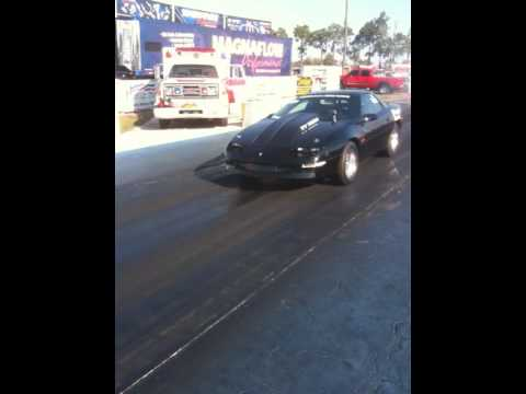 Axel breaks on 1100 hp nitro car Heath Shemwell