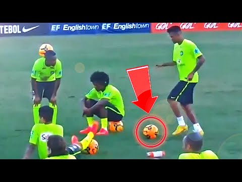 Neymar Skills - Crazy Football Soccer Skill Move Tutorial video
