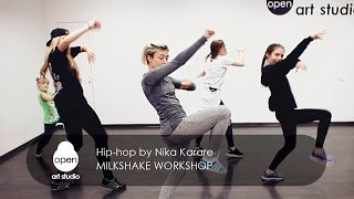 Milkshake workshop - Hip-hop by Nika Karare - Open Art Studio