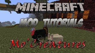 Minecraft 1.4.5 - How To Install The Mo'Creatures Mod
