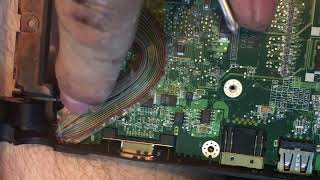 Acer Aspire One ZG5 power button not working replace mother board