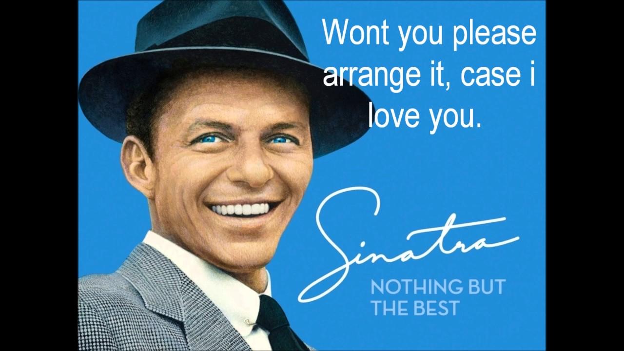 Frank Sinatra - The Way You Look Tonight (Lyrics) - YouTube