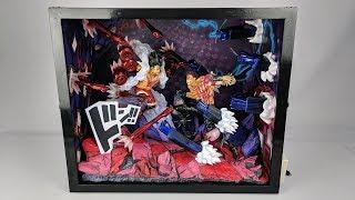 [OPEN BOX] JacksDo Luffy G4 Snakeman vs Katakuri GK Statue