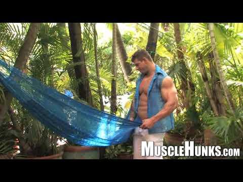 Muscle Hunks, Muscle Men, Bodybuilder Zeb Atlas