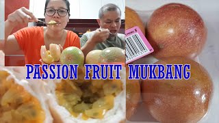 Passion Fruit Mukbang (Tropical Fruit)
