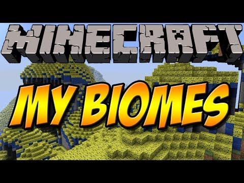 ERSTELLE DEINE EIGENEN BIOME   My Biomes Mod   Minecraft Mod Review [DEUTSCH]
