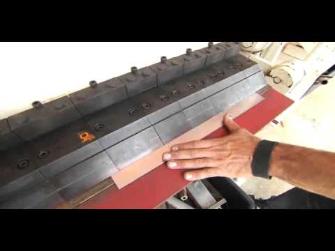 Bryan Fuller Demonstrates Jet Sheet Metal Box and Pan Brake