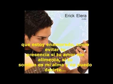 Erick Elera - Te Amo (con letra)